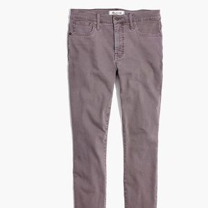 Madewell 9-inch highrise, skinny